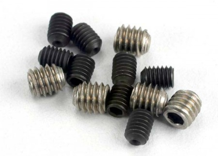 Set Screw M3x4mm (8) M4x4mm (4)