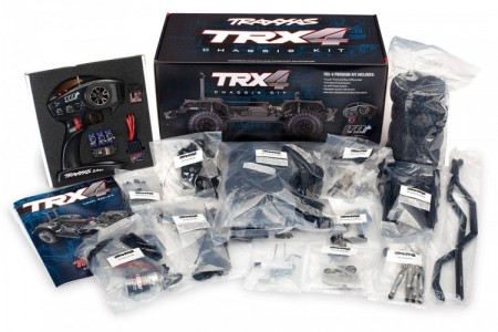 Traxxas TRX-4 KIT, uten body, batteri og lader