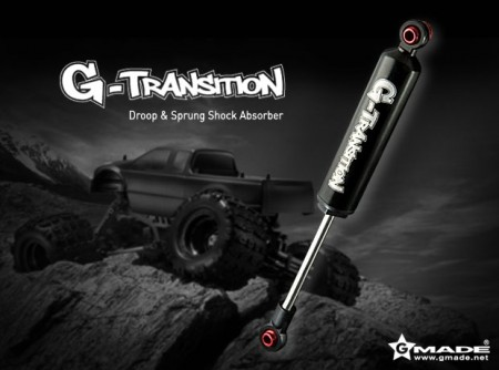 Gmade G-Transition Shock Black 90mm (4) (1/8 crawler and truck)