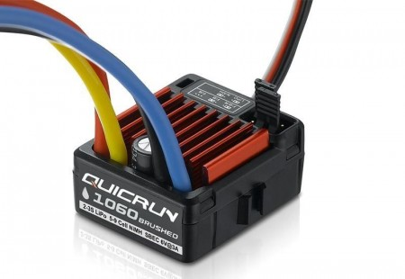 Hobbywing QuicRun WP 1060 60A Brushed ESC 2-3s