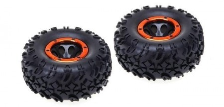HSP-18017 Pre-Mounted Tire Set - 2pcs