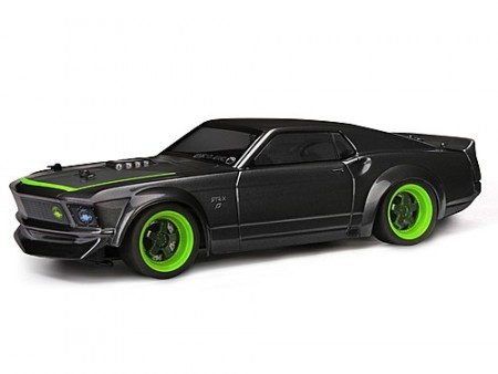 HPI Micro RS4 RTR m/ 1969 FORD MUSTANG RTR-X BODY