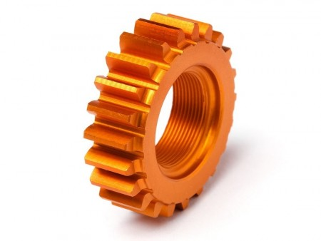 HPI Threaded Pinion 22Tx12mm (Orange) - Nitro 3