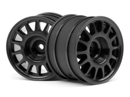 HPI107970 - WR8 RALLY OFF-ROAD WHEEL BLACK (48x33mm/2pcs)