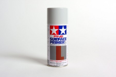 Tamiya fine surface primer L light gray