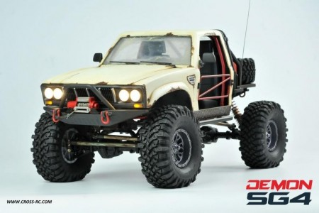 Demon SG4A 1/10 4x4 Kit m/Hard Body