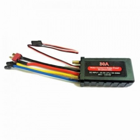 30A Water Cooled & Waterproof Brushed ESC W/ BEC