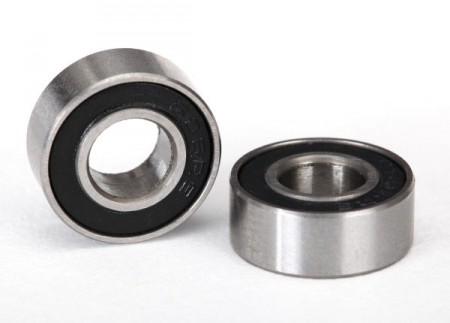 Ball Bearing 6x13x5 Back Rubber Seal (2)