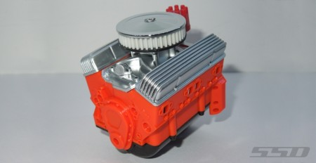 SSD 1/10 Scale V8 Engine Motor Cover Set