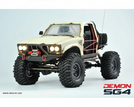 Demon SG4C 1/10 4x4 Kit m/Hard Body & Metal Aksler
