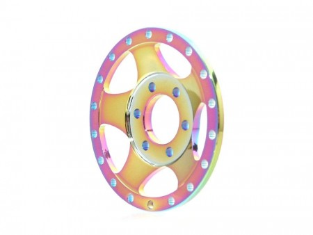 Boom Racing ProBuild™ Alum SV5 Faceplate (1) Neo Chrome