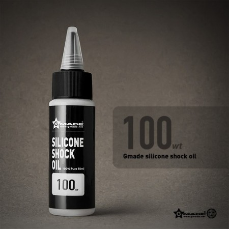 Gmade Silicone Shock Oil 100 Weight 50ml