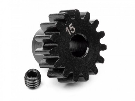 HPI-100914 Pinion Gear 15 Tooth 1m/5mm shaft