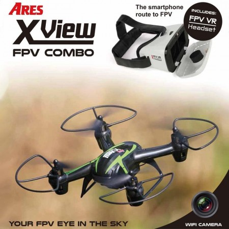 Ares Xview drone med VR Briller