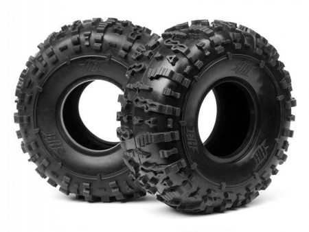 HPI-67772 HB Rover Rock Crawler Tire (White) 2.2