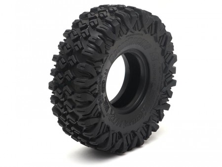 Boom Racing HUSTLER M/T Xtreme 1.55 BABY Rock Crawling Tires 3.74x1.3 SNAIL SLIME™ Compound w/Open Cell Foams (SS)