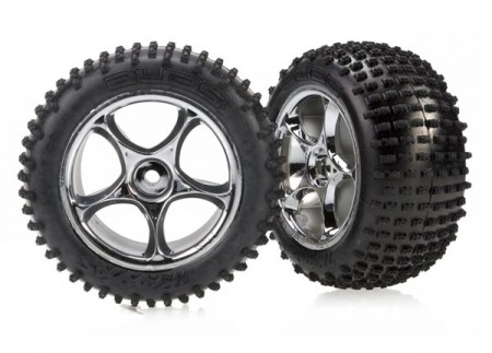 TRX-2470R Tires & wheels, assembled