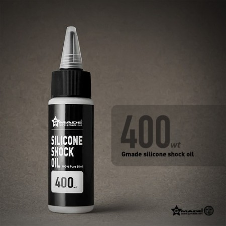 Gmade Silicone Shock Oil 400 Weight 50ml