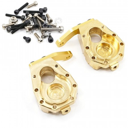 Yeah Racing Brass Front Steering Knuckle 59g 2 pcs For Traxxas TRX-4  TRX4-6