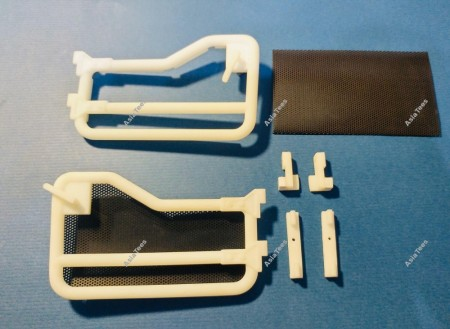BA Model Studio 1/10 Scale Tube Door (2) for Boom Racing BRX01
