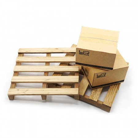 Yeah Racing 1/10 RC Crawler Truck Accessory Wooden Loading Pallet
