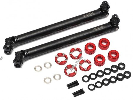 Boom Racing BADASS™ HD Steel Center Drive Shaft Set for Gmade GOM Front and Rear (2) [Recon G6 Certified] for Gmade GOM