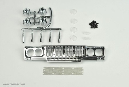 SG-4 Chrome Main Grille (Round Headlights)