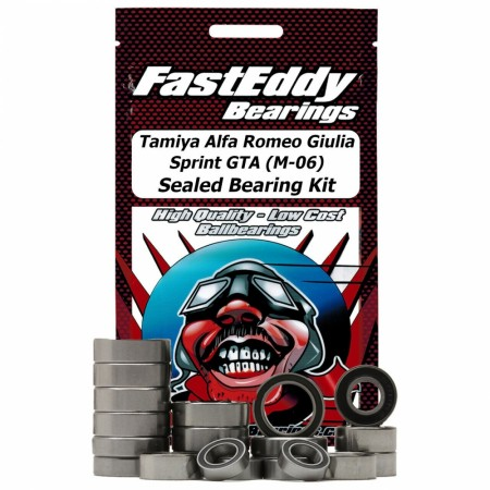 Tamiya Alfa Romeo Giulia Sprint GTA (M-06) Sealed Bearing Kit