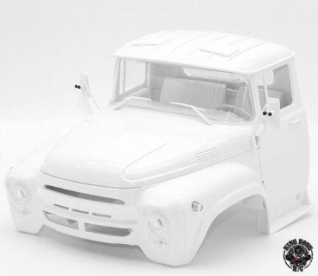 King Kong RC 1/12 ZL130 Tractor Truck Hard Plastic Cab Kit for ZL-130