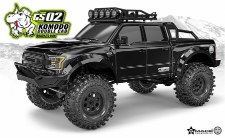 Gmade 1/10 GS02 KOMODO double cab TS RTR
