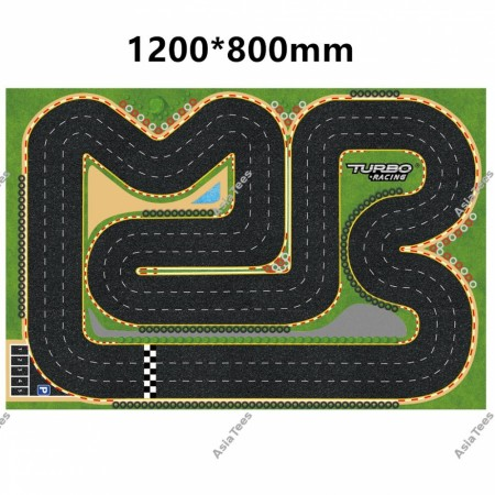 Turbo Racing 1:76 Race Track Large Pit Mat 120*80mm
